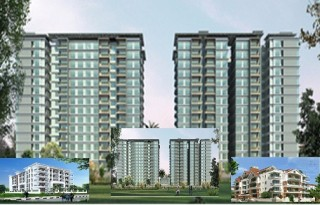 2, 3 & 4 BHK Flats for Sale @ Elegant Properties